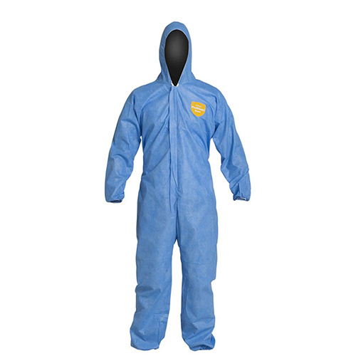 Dupont-Proshield-Basic-Coveralls---Attached-Hood-and-Boots,-Elastic-Wrists-