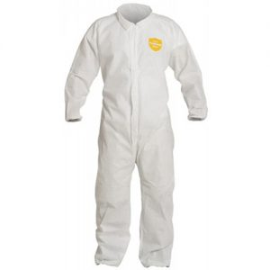 Dupont Proshield Basic Coveralls - Collar, Elastic Wrists and Ankles