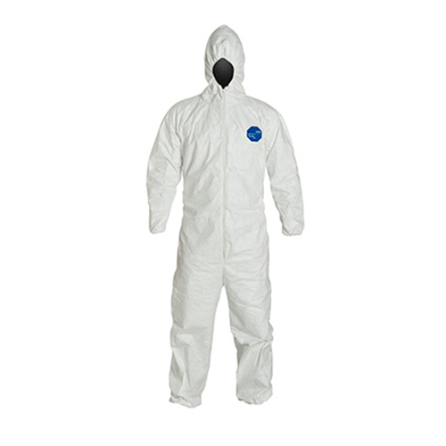 Dupont-Tyvek-Coveralls---Attached-Hood,-Elastic-Wristis-and-Ankles