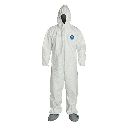 Dupont-Tyvek-Coveralls---Attached-Hood-and-Boots,-Elastic-Wristis-and-Ankles