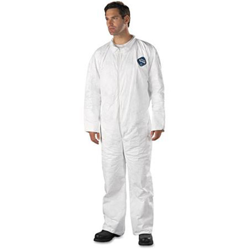 Dupont-Tyvek-Coveralls - Collar, Open Wrists and Ankles