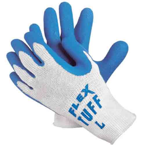 Flex-Tuff® Latex-Dipped Work Gloves