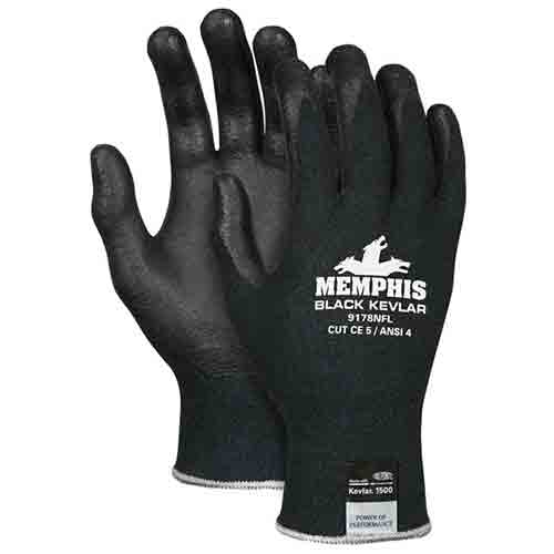 Memphis gloves Memphis™ Black Kevlar® Gloves