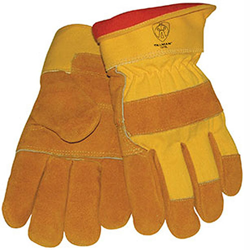 1500YPP Brown Shoulder Split Cowhide Gloves