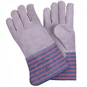1528 Full Leather Back Gloves
