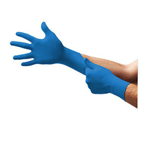 TouchNTuff® Blue 92-575 and 92-675 Disposable Nitrile Gloves